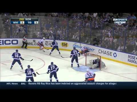 New York Islanders vs Tampa Bay Lightning 27.03.2014