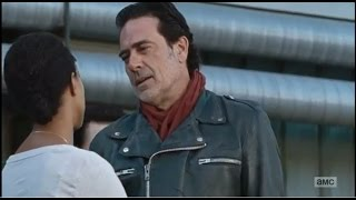 The Walking Dead 7x16 - Sasha Dies And Attacks Negan