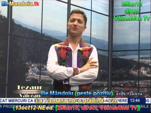 Ilie Măndoiu - La Tismana ntr-o grădină - v2n (13oct12-NEed. [29iun13, direct, VâlceaUnu Tv])