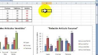 Gráficos En EXCEL Para Distribuciones Bidimensionales