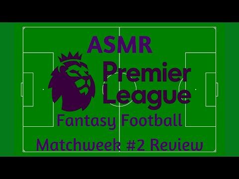 ASMR Football | Premier League Matchweek #2 and Fantasy Football Review (Whisper)