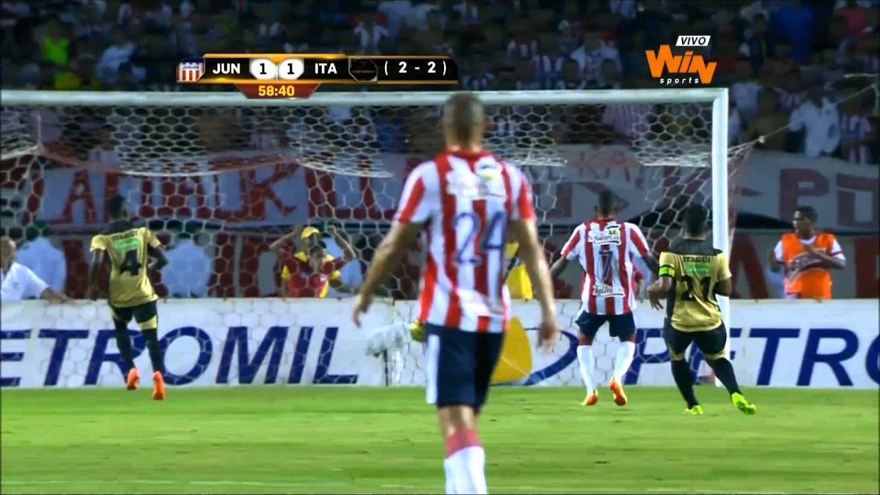 Atletico Junior Barranquilla 2-1 Deportivo Itagui
