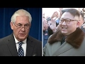 Tillerson looks for ways to deal with North Koreas threats