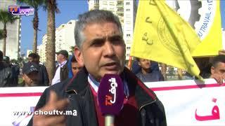 بالفيديو..أكثر من 40 ألف سائق طاكسي يحتجون بطنجة..و هذه مطالبهم   |   خارج البلاطو