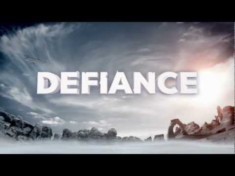 "Defiance Trailer - SyFy (HD), Defiance is coming April 2013. Starring Julie Benz (""Dexter""), Grant Bowler, Mia Kirshner, Jaime Murray, and more."