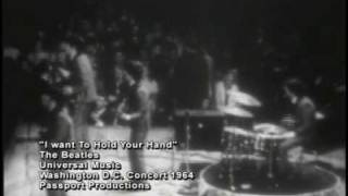 I Want To Hold Your Hand, The Beatles (Live In Washington, D.C. 1964) view on youtube.com tube online.