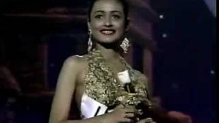Miss India Universe 1993 Namratha Shirodhkar Evening gown view on youtube.com tube online.