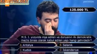 Kim Milyoner Olmak ister 196. Bölüm Mehmet Cömert Tülümen
