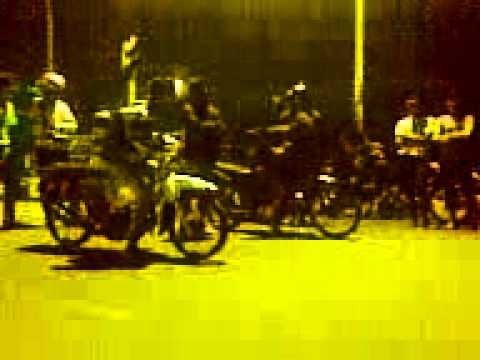drag bike Surabaya Grand MBER #76 vs Supra 125 part 2