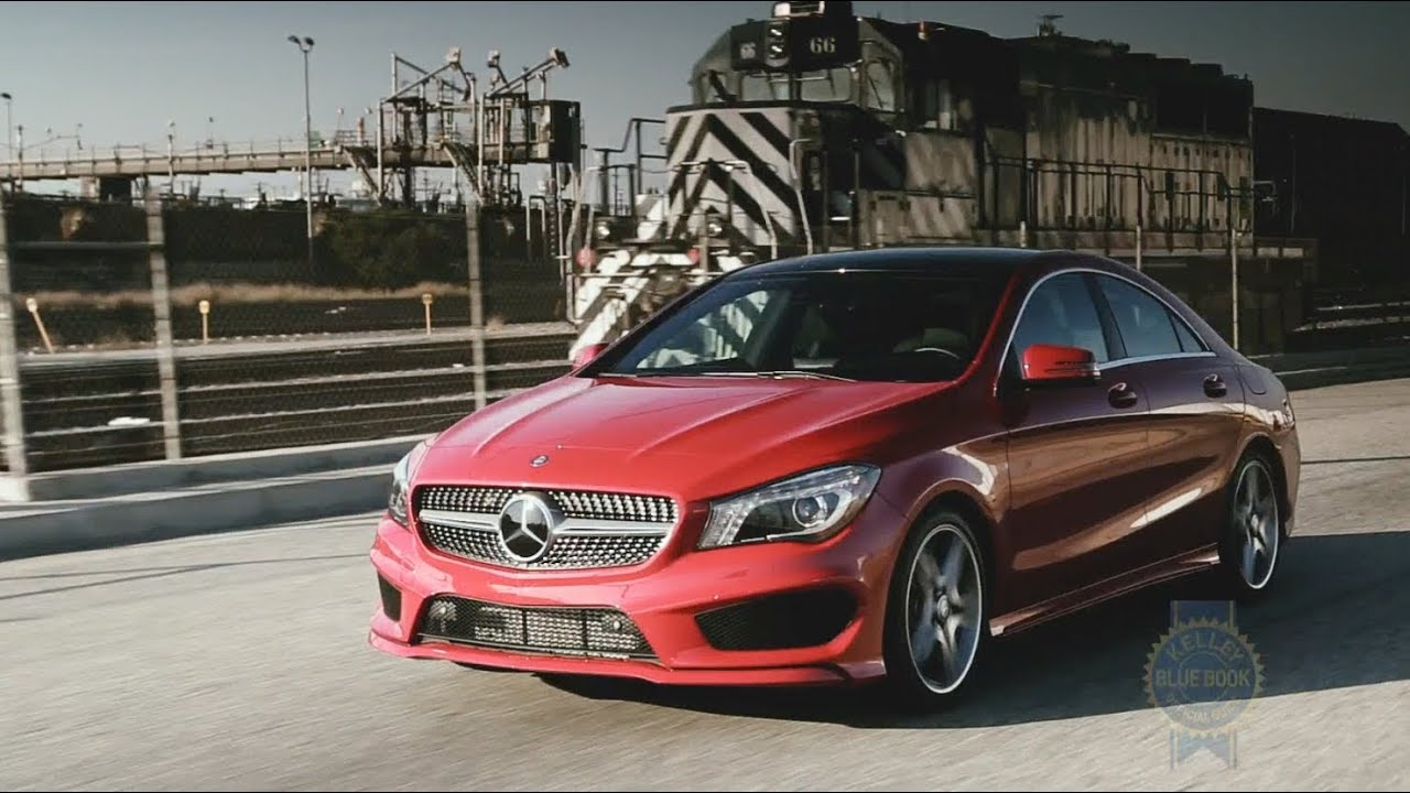 2014 mercedes benz cla review kelley blue book youtube for Mercedes benz blue book