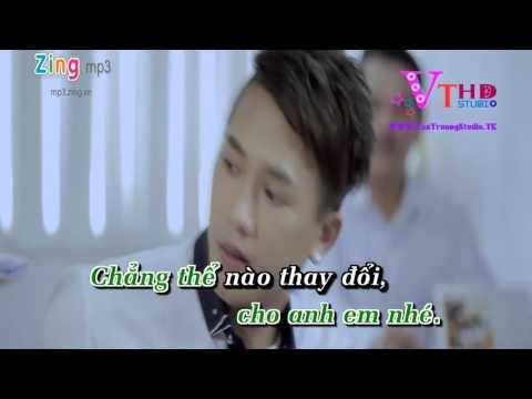 Karaoke HD Xin Lỗi Người Anh Yêu   Châu Khải Phong   Văn Trường Studio