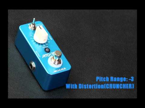 Mooer Pitch Box Harmony Pitch Shifter Effects Pedal