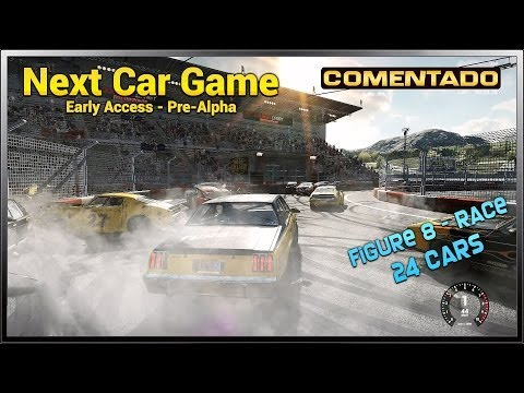 Next Car Game - February Update - Figure 8 (Race) | Comentado