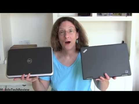 Lenovo ThinkPad Yoga vs. Dell XPS 12 Comparison Smackdown