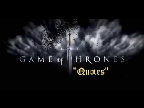 Android app: Game of thrones - Quotes