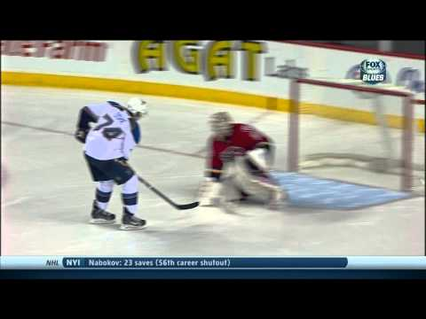 Full shootout St. Louis Blues vs Calgary Flames 12/23/13 NHL Hockey