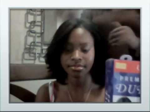 Quick weave using duby hair - YouTube