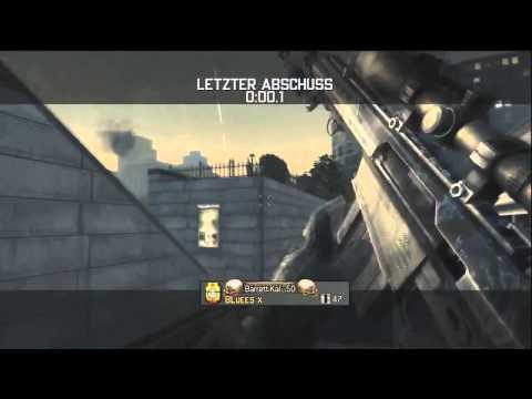 720 No Scope Across Map Killcam (MW3)