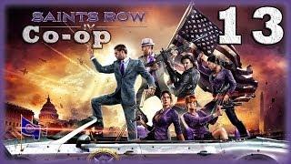 [Coop] Saints Row IV. Серия 13 - Гигантские роботы-убийцы. [16+]