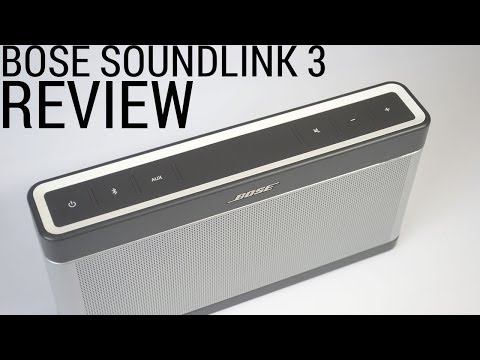 Bose SoundLink 3 Review