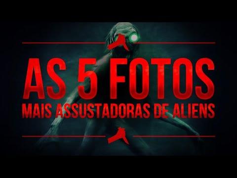 AS 5 FOTOS MAIS ASSUSTADORAS DE ALIENS