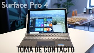 Surface Pro 4: mejor tablet, mejor PC
