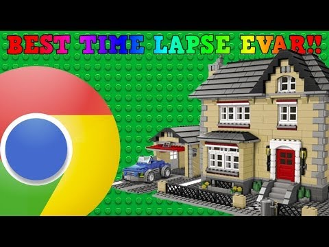 BUILD (LEGO) WITH CHROME! BEST TIME LAPSE EVER!!
