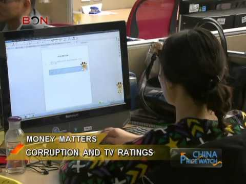 TV ratings in China are skewed by corruption - China Price Watch - May 30, 2014 - BONTV China