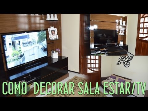 Como Decorar Sala de Estar e Tv | Por Ursula Andress (#fevereirotododia #3)