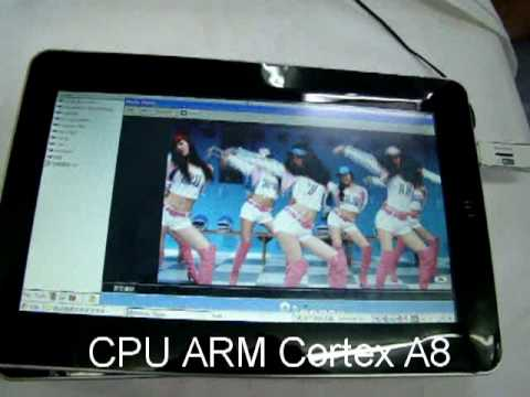 Android 2.1 iPed aPad iPad Style Tablet PC Prototype