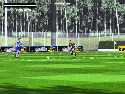 Leszczyk vs Krystiansen ( FC Southampton vs Newcastle United) gol Ben Arfa