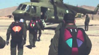 Shahbaz Team (Skydivers) - Special Service Group (SSG) - Pakistan Army