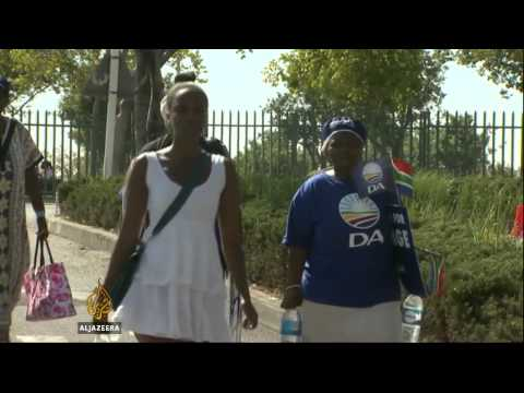 Final election campaigns underway in South Africa