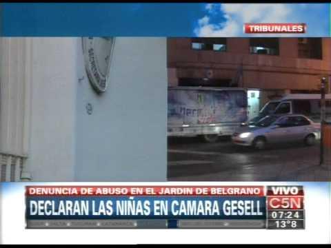 C5N - POLICIALES: DECLARAN LAS NENAS DEL JARDIN DE BELGRANO (PARTE 1)