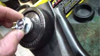 Mustang Rear Control Arm Bushing Replacement