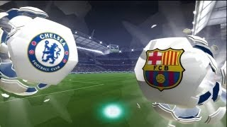 FIFA 14: Chelsea Vs Barcelona (HD Full Online Gameplay