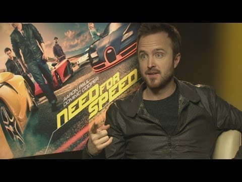 Need For Speed: Aaron Paul teases reporter for NOT watching Breaking Bad