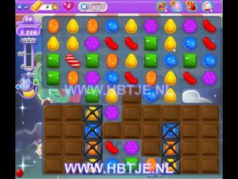 Candy Crush Saga Dreamworld level 53