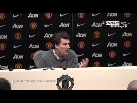 Swansea City Video: Michael Laudrup after 2-1 win at Old Trafford.