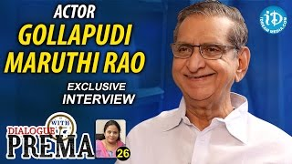 Gollapudi Maruti Rao Exclusive Interview