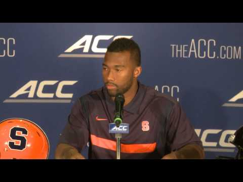 ACC Kickoff: Cameron Lynch Press Conference - Syracuse Football