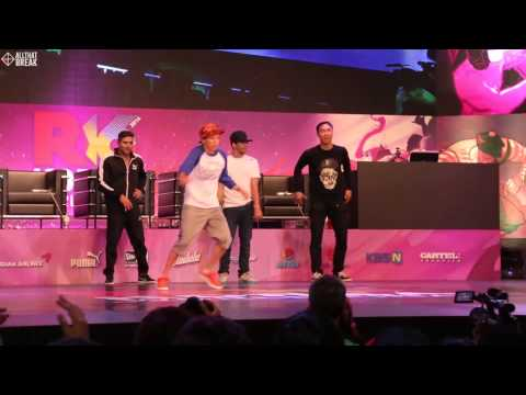ASIA ONE (BBOY SUMMIT) / JUDGE SHOW / R16 2014 Final Bboy 1 on 1 / Allthatbreak.com
