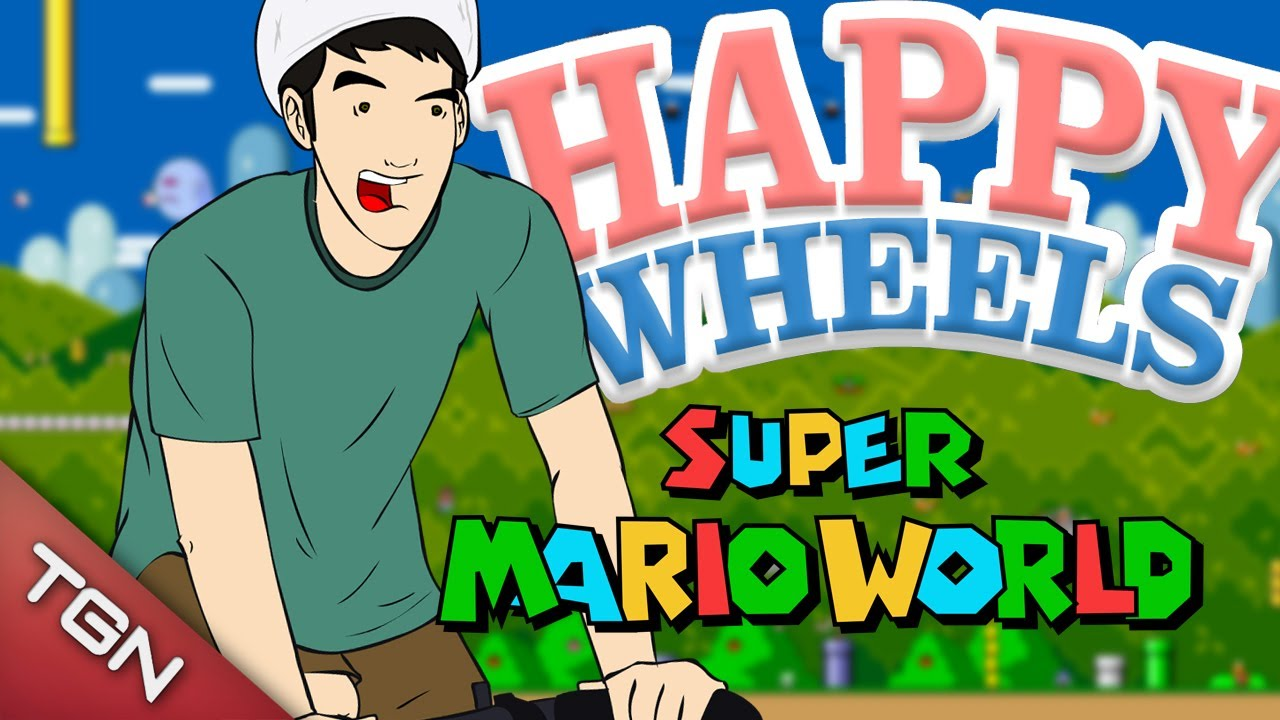 happy wheels mario