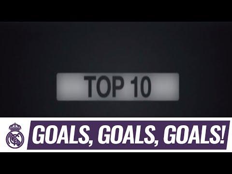 The best 10 goals Real Madrid scored against FC Barcelona