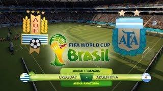 FIFA 2014 World Cup Brazil: Uruguay Vs Argentina (Buscando