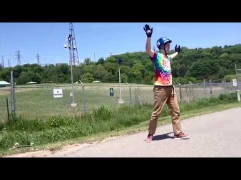 Jon Norman's World Record Downhill Slide 500 feet Toronto Poopchute