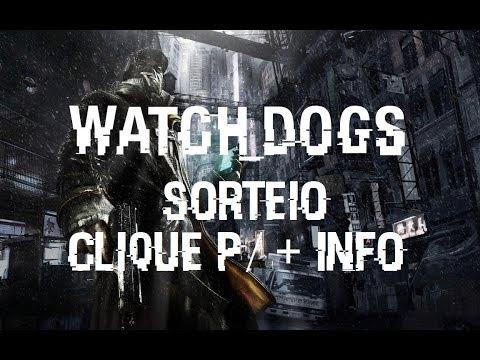 Sorteio Watch Dogs: ganhe uma cópia de Watch Dogs por minha conta p/ plataforma que você quiser!