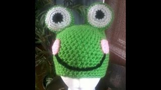 Tutorial Monday! How To Crochet A Froggy Beanie. (part 2