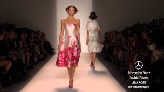 Lela Rose Spring/Summer 2014 Video - New York