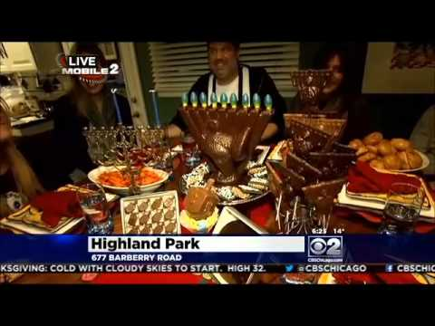 Part 3: CBS and Real Urban BBQ Celebrate Thanksgivukkah
